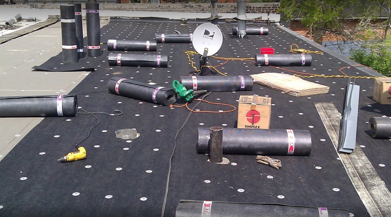 Built Up Roof Installation : Built up roofing chicago flat roof company
