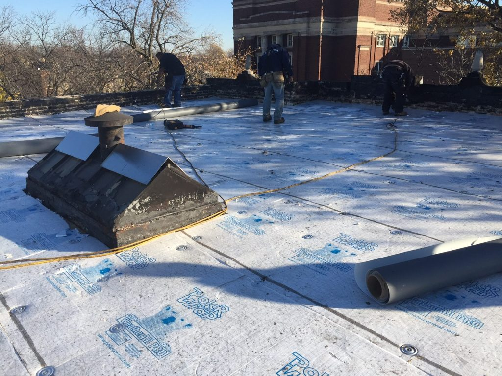 New Residential Roof Chicago Flat Roof Company